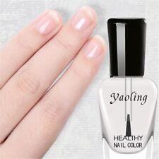 Health Transparent Nail Top Coat Clear Enhance Glitter Polish Nail Art Tips Oil