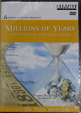 Millions of Years: Where Did The Idea Come From? (DVD, 2005) *FREE Shipping*