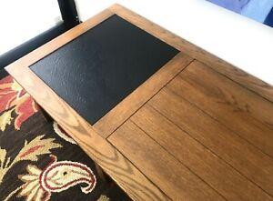"""Brandt Ranch Oak Coffee Table 58"""" Long"""