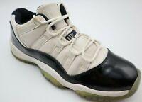 Nike Air Jordan 11 XI Retro Low GS BG Concord White Black 528896 153 Size 7Y