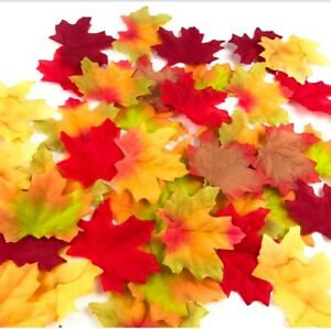 Artificial Leaves Craft Leaves Rustic Autumn Wedding Decoration