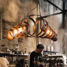 Industrial Retro Design Bar Chandelier Lighting Authentic Industrial Style
