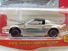 JOHNNY LIGHTNING - MUSCLE CARS - 1984 - '84 PONTIAC FIREBIRD TRANS AM (CHROME)