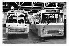 pu0251 - Durham Buses - MCN 876L & FCN 637F at Murton Depot - photograph 6x4