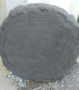 """450mm (18"""") Log effect stepping stones - various colours - Collection"""