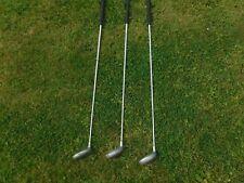 3x Dunlop Titanium Matris L/H  Golf Driver Clubs