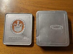 Zigarettendose Overstolz Neuerburg 3.Reich WW2 1940 Tropenpackung