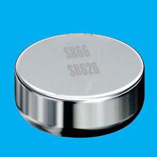 10x SR66 AG4 606 SR626 1.55 V Batería Célula de botón de óxido de plata reloj de reemplazo
