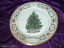 Lenox Annual 00004000  Christmas Tree Around the World Collector Plate Netherlands - 2002