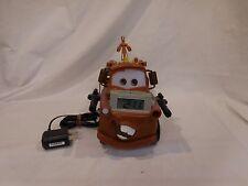 Disney Pixar Cars Tow Mater Truck Alarm Clock Night Light and Storyteller