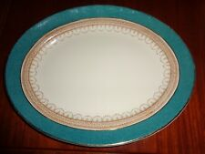 Losol Ware Keeling And Co Ltd CLAREMONT Green Circa 1930's? Small Platter