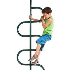 Firemans Pole for Climbing Frame Green 8ft 2.4m Long Powder Coated Fireman's