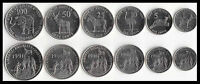 Eritrea 6 Coins set 1, 5, 10, 25 50 100 Cents, 1991, UNC