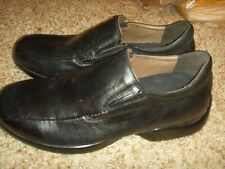 Aetrex G220M Black Smoot Leather Loafer Mens Size 10.5W
