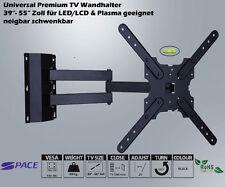 LCD LED TV TELEVISORE SUPPORTO PARETE 39- 55 POLLICI diagonale orientabile