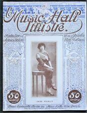 Moulin Rouge - Bataclan - Folies-Bergère 1913 French Music Hall Illustré