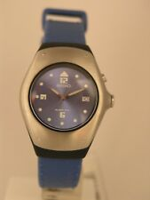 Seiko womens watches kinetic blue rubber strap stainless steel SWP271P1