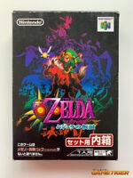 THE LEGEND OF ZELDA MAJORA'S MASK Nintendo 64 JAPAN
