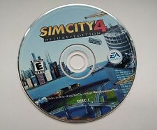 Replacement SimCity 4: Deluxe Edition PC Game Disc #1 Only NO DISK TWO