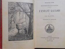 LA20 ENFANTINA L'ENFANT GAULOIS CHARLES MARCEL ILLS BASSAN 1903 LEN