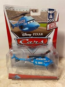 Disney Pixar Cars 2013 Series PISTON CUP DELUXE CARD Dinoco Helicopter