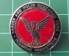 Pembroke Promotions Cancer & Polio Research  Badge