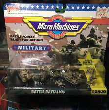 Micro Machines GALOOB Military BATTLE BATTALION