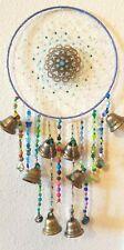 DREAMCATCHER SunCatcher WINDCHIME with 8Brass Bells, Chandelier Crystal, DRAGONS