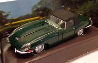 Corgi 1/43 Scale Model Car 98120 - Jaguar E-Type Soft Top - Green