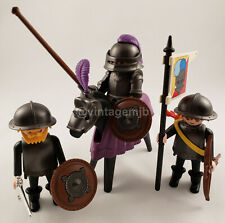 PLAYMOBIL VINTAGE 3329x KNIGHTS & SQUIRES CASTLE - 100% COMPLETE - VERY NICE!