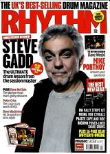 RHYTHM DRUMMER MAGAZINE +CD 2008 APR STEVE GADD, MIKE PORTNOY, DAVE WECKL, THE C