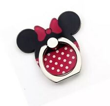 Minnie Mouse MetallicFinger Grip Metal Ring Stand Holder For All Mobile Phones