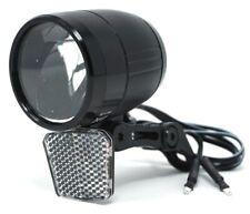 LED Fahrrad Scheinwerfer 100 Lux Sensor Standlicht Fahrradlampe Nabendynamo