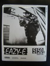 Original 1990's Eazy-E NWA Press Promo Photo 8x10 Rap Hip-Hop Eric Wright RARE a