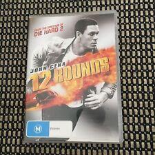 JOHN CENA 12 ROUNDS DVD.