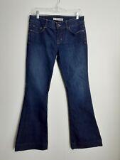 J Brand Jeans Love Story Long Length in Darkvint Bellbottom Flare Size 29 Womens