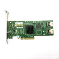LSI SAS3081E-R 8- port Internal SATA/SAS 3Gb/s RAID Controller Card