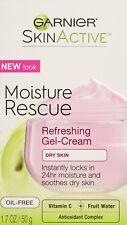 Garnier SkinActive Moisture Rescue Gel-Cream Face Moisturizer, Dry Skin 1.7 oz.