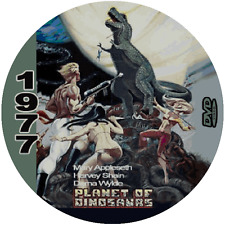 Planet of the Dinosaurs (1977) Classic Sci-fi and Horror 'B' Movie DVD NR