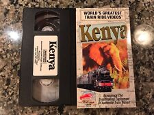 Worlds Greatest Train Ride Videos Kenya Vhs! PBS Discovery Channel