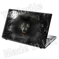 Laptop Skin Cover Notebook Sticker Decal Evil Wolf 204