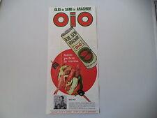 advertising Pubblicità 1968 OLIO OIO