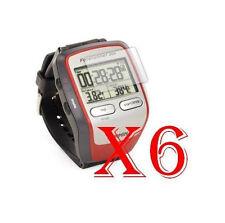 6 PZ PELLICOLA PROTEZIONE DISPLAY Garmin ForeRunner 305 GPS PROTEGGI SCHERMO LCD