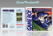 """BOITIER du jeu """"MEGAMAN"""", GAME BOY. Nintendo. PAL FR. HD. SANS LE JEU."""
