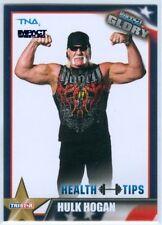 "HULK HOGAN ""BLUE PARALLEL BASE CARD #58 #08/10"" TNA IMPACT GLORY 2013"