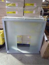 DESIGNER GLASS AND SILVER AVEBURY FIRE SURROUND BRAND NEW IN BOX