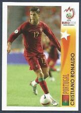 PANINI EURO 2008- #509-PORTUGAL & MANCHESTER UNITED-CRISTIANO RONALDO IN ACTION