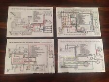 VW T25 TRANSPORTER COLOUR WIRING DIAGRAM SETS INCLUDES 1.6 DIESEL