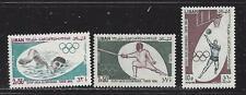 LEBANON  - 431-433, C424 - MH - 1965 - TOKYO OLYMPIC GAMES