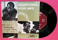 45rpm single Pic Sleeve - Miles Davis - Milestones/Dr Jekyll (EXC/VG+)